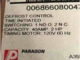 Paragon 8045 00 Wiring Diagram Rn 9068 Paragon Refrigeration Programmable Defrost Timer