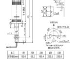 Patlite Wiring Diagram Angel Ham Shop Japan Patlite Le 302fbp Ryg Red Yellow Green Signal