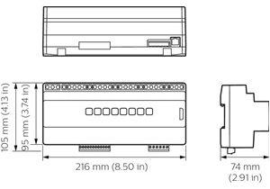 Philips Dynalite Wiring Diagram Philips 88800100 Ddmc802 V2 Dynalite Basismodule Rexel Germany