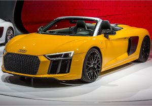 Pink Audi toddler Car 2017 Audi R8 Spyder Instrumented Test Review Car and Driver