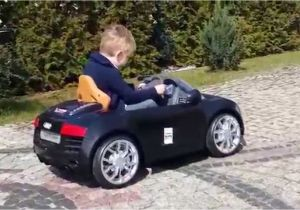 Pink Audi toddler Car Audi R8 Avigo 6v Test Drive Audi Avigo Electric toy Youtube