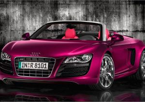 Pink Audi toddler Car Pink Audi R8 Spyder Carflash Fightbreastcancer I Will Have A Car