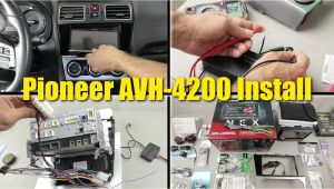 Pioneer Avh W4400nex Wiring Diagram 2017 Wrx Limited Stereo Upgrade Pioneer Avh 4200 Nex Installation