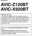 Pioneer Avic X920bt Wiring Diagram Pioneer K031 Multi Media Avn Navigation Server System with Bt User