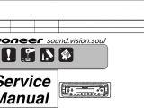 Pioneer Deh P680mp Wiring Diagram Pioneer Deh 1800r Service Manual