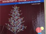 Pre Lit Christmas Tree Wiring Diagram Ge 8ft Winterberry Durable Colorful Christmas Tree with Led Lights