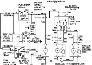 Precision Fuel Pump Wiring Diagram 1989 ford F 250 Fuel System Diagram Schema Diagram Database