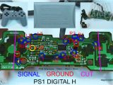 Ps2 Controller Wiring Diagram Joystick Controller Pcb and Wiring