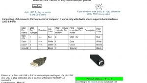 Ps2 Keyboard to Usb Wiring Diagram Male Usb to Ps 2 Wiring Diagram Usb to Micro Usb Wiring Diagram Me