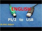Ps2 Keyboard Wiring Diagram Ps2 to Usb How to Convert A Mouse Ps 2 Youtube