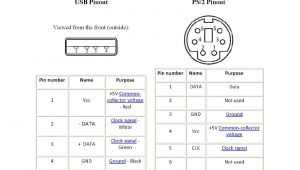 Ps2 Keyboard Wiring Diagram Ps2 to Usb Wiring Diagram Wiring Diagrams Second