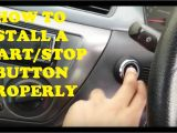 Push button Start Wiring Diagram the Right Way to Install A Start Stop button