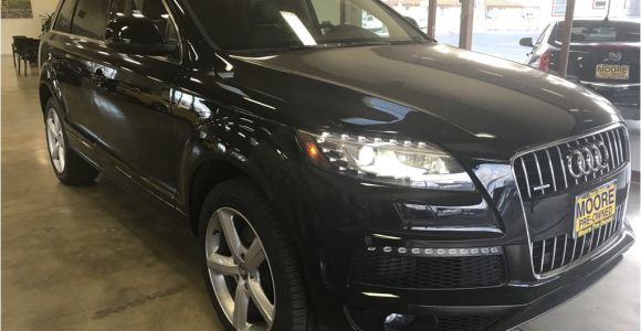 Q7 Audi 3rd Row Seat 2015 Used Audi Q7 Blind Spot Alert Panorama Roof Third Row