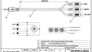 Rca Cable Wiring Diagram A V Cable Wiring Diagram Blog Wiring Diagram