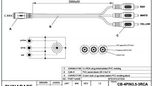 Rca Jack Wiring Diagram 3 5 Mm to Rca Wiring Diagram Wiring Diagram Name