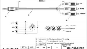 Rca Plug Wiring Diagram Three Pin Jack Rca Diagram Wiring Diagram Files