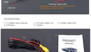 Rear View Camera Wiring Diagram Reverse Camera Wiring Overclockers Uk forums