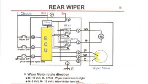 Rear Wiper Motor Wiring Diagram Rear Wiper Wiring Diagrams My Wiring Diagram