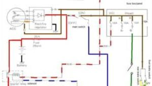 Rectifier Wiring Diagram Regulator Rectifier Combo with Points Wiring Diagram Xs650