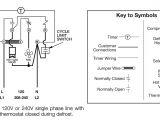 Refrigerator Defrost Timer Wiring Diagram Walk In Cooler Wiring Diagram with Defroster Schematic Diagram