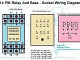Relay Base Wiring Diagram 12v 14 Pin Relay Wiring Diagram Wiring Diagram Value