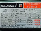 Reliance Duty Master Ac Motor Wiring Diagram Changing An Induction Motor S Power Supply Frequency Between 50 and