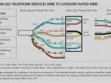 Residential Phone Wiring Diagram Phone Line Wiring Diagram Color Wiring Diagram View