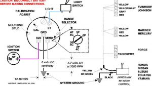 Rev Counter Wiring Diagram Boat Tach Wiring Diagram Wiring Diagram Expert
