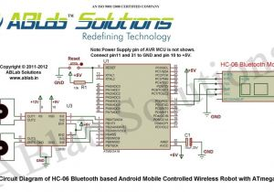 Robot Wiring Diagram Learn How to Design A Hc 06 Bluetooth Based android Mobile