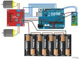 Robot Wiring Diagram Mobile Phone Controlled Robot Car Using G Sensor and Arduino Mazen
