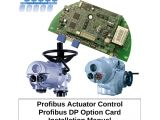 Rotork Iq Wiring Diagram Profibus Actuator Control Profibus Dp Option Card Installation