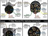 Round Plug Trailer Wiring Diagram 50 Best Trailer Wiring Images Trailer Trailer Wiring