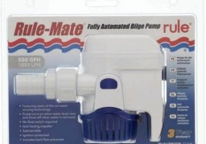 Rule A Matic Float Switch Wiring Diagram Buy Rule Rm500b Rule Mate Automatic 500 Gph In Canada Binnacle Com