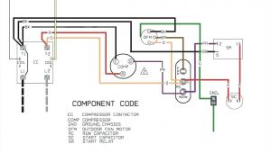 Run Capacitor Wiring Diagram Air Conditioner Ac Condensing Unit Wiring Wiring Diagrams for