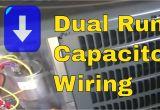 Run Capacitor Wiring Diagram Hvac Training Dual Run Capacitor Wiring
