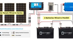 Rv solar Panel Installation Wiring Diagram solar Panel Calculator and Diy Wiring Diagrams for Rv and Campers