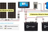 Rv solar Panel Wiring Diagram solar Panel Calculator and Diy Wiring Diagrams for Rv and Campers