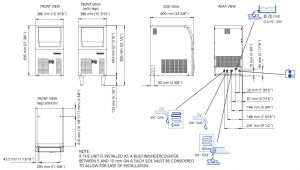 Scotsman Ice Machine Wiring Diagram Scotsman Ec 56 Easy Fit Model