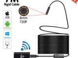 Security Camera Wiring Diagram 8led 8mm Od 7m Wifi Endoscope Camera 2mp 720p Snake Usb Flexible