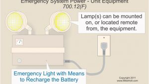 Self Contained Emergency Lighting Wiring Diagram Emergency Systems and the Nec Electrical Construction