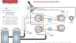 Seymourduncan Com Support Wiring Diagrams Throbak 4 Conductor 50 S Style Humbucker Guitar Pickup Wiring