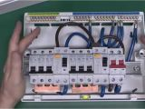 Shed Consumer Unit Wiring Diagram Dual Rcd Consumer Unit Youtube
