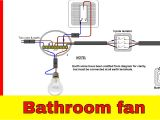 Shower Pull Cord Switch Wiring Diagram How to Wire Bathroom Fan Uk Youtube