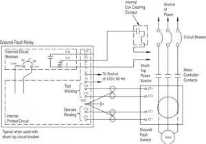 Shunt Trip Breaker Wiring Diagram Schneider Ar 4560 Circuit Breaker Shunt Relay Download Diagram
