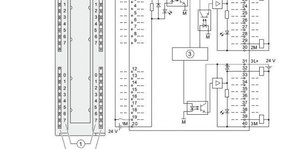 Siemens S7 200 Wiring Diagram Profibus Connector A 6es7323 1bl00 0aa0
