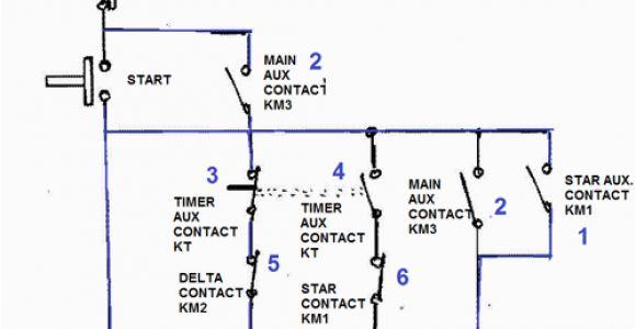 Siemens Star Delta Starter Wiring Diagram Star Delta Motor Starter Explained In Details Eep