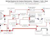Simple Motorcycle Wiring Diagram Simple Motorcycle Wiring Diagram for Choppers and Cafe Racers Evan