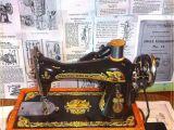 Singer Sewing Machine Wiring Diagram Cantante 15 62 Completamente Reparado Cb Shuttle Antiguo Maquina De
