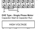 Single Phase 2 Speed Motor Wiring Diagram Lafert north America Training Center