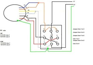 Single Phase Ac Motor Wiring Diagram 220 Motor Schematic Wiring Diagram